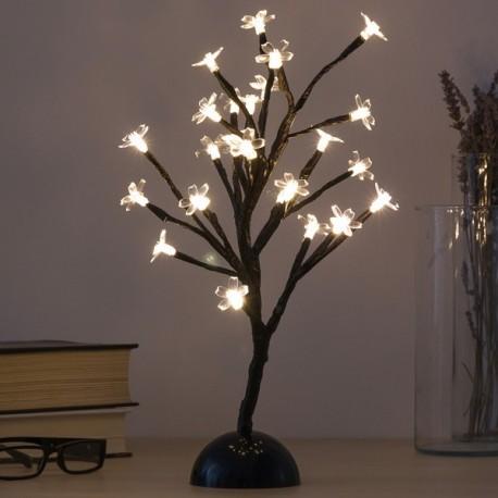 Arbre Décoratif à Fleurs (24 LED) - Mon Beau Sapin on